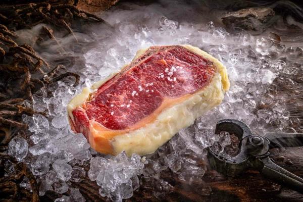 Hammer Beef, Club Steak, Beef Fat Aged