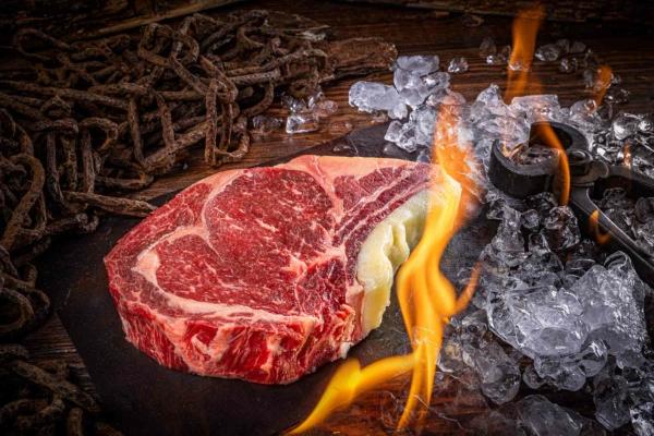 Hammer Beef, Côte de bouef, Beef Fat Aged
