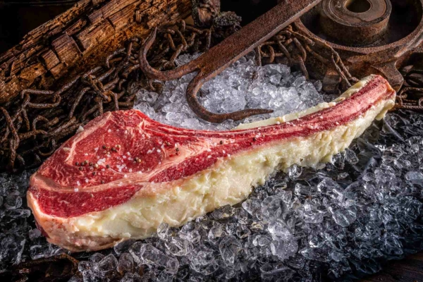 Hammer Beef, Tomahawk, Beef Fat Aged