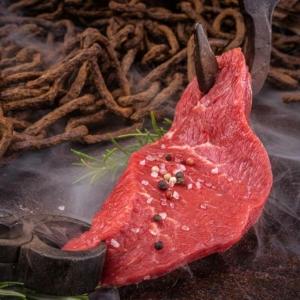 Hammer Beef, Steak aus der flachen Nuss